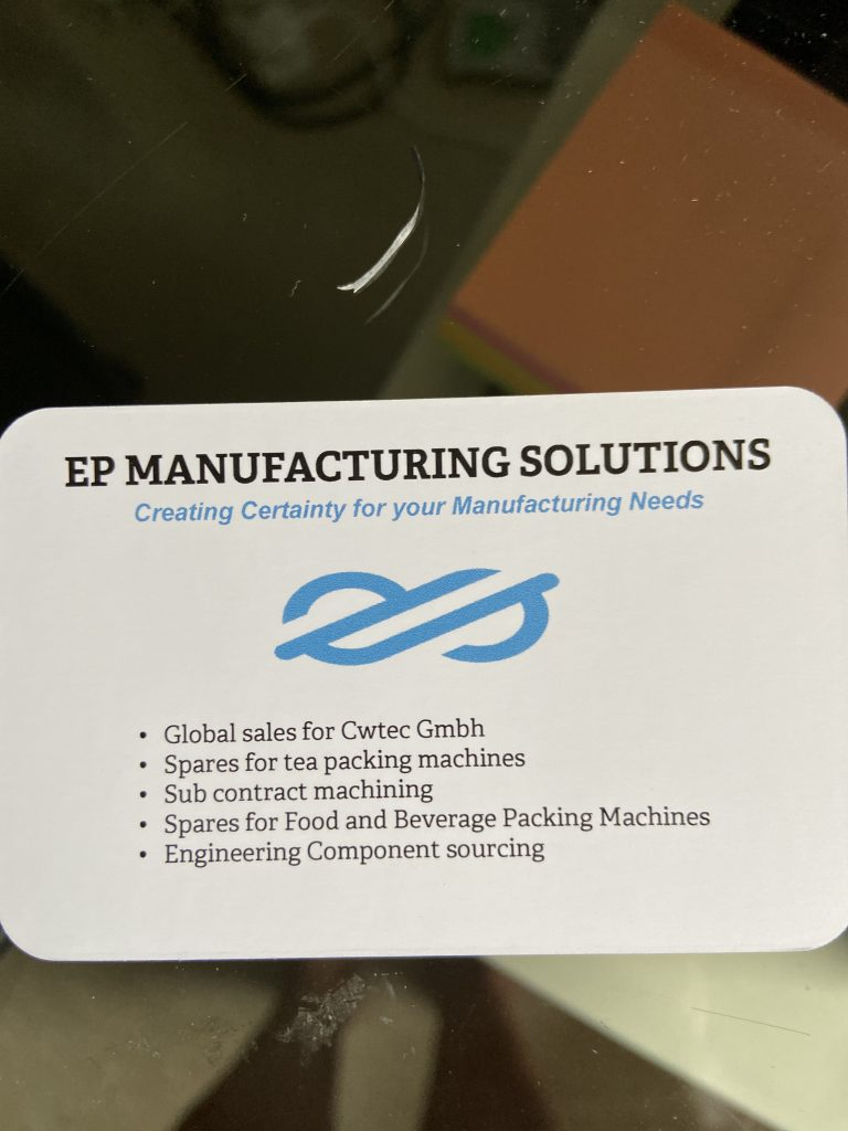 E P manufacturing solutions