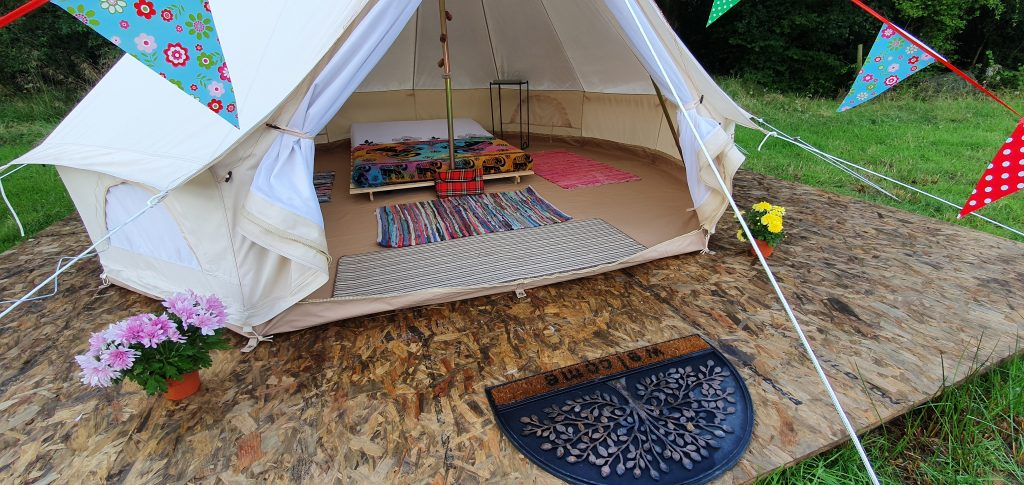 Life in Wellies eco camping