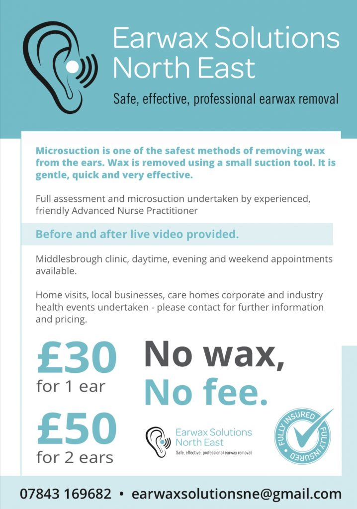 Earwax Solutions North East
